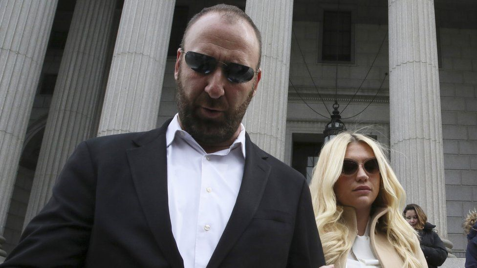 Kesha and her lawyer leave court in New York