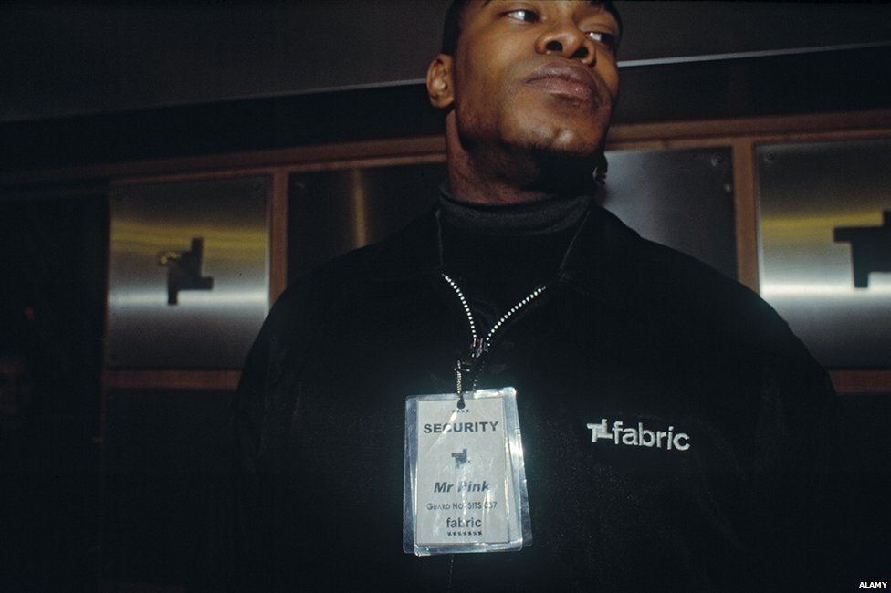 Bouncer at Fabric nightclub