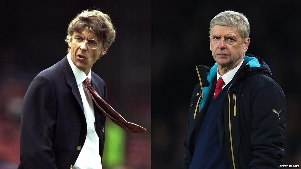 Arsene Wenger: then and now