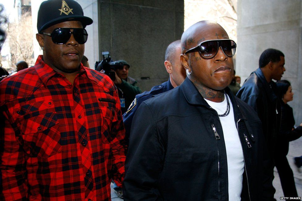 "Ronald ""Slim"" Williams and Bryan ""Birdman"" Williams"
