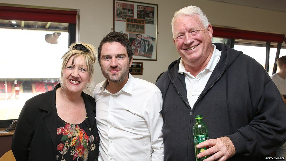 Linda Gilbey, George Gilbey and Pete McGarry