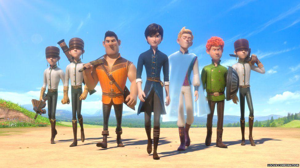 The 7 dwarves