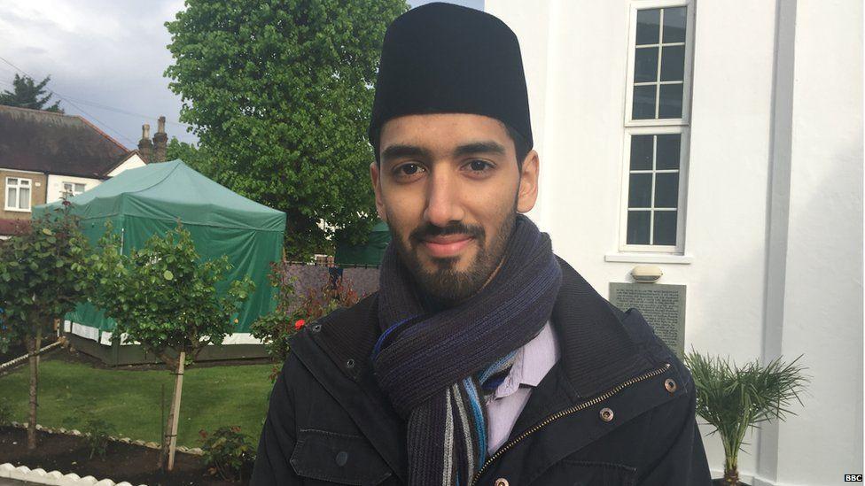 Umar Nasser, 24, a medical student in London
