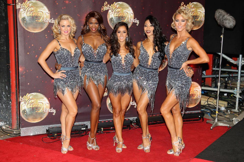 It's slightly cheaper to meet professional dancers like Natalie Lowe (R), at £21.80