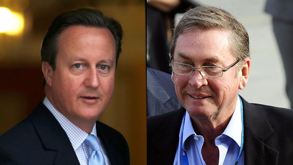 David Cameron/Lord Ashcroft