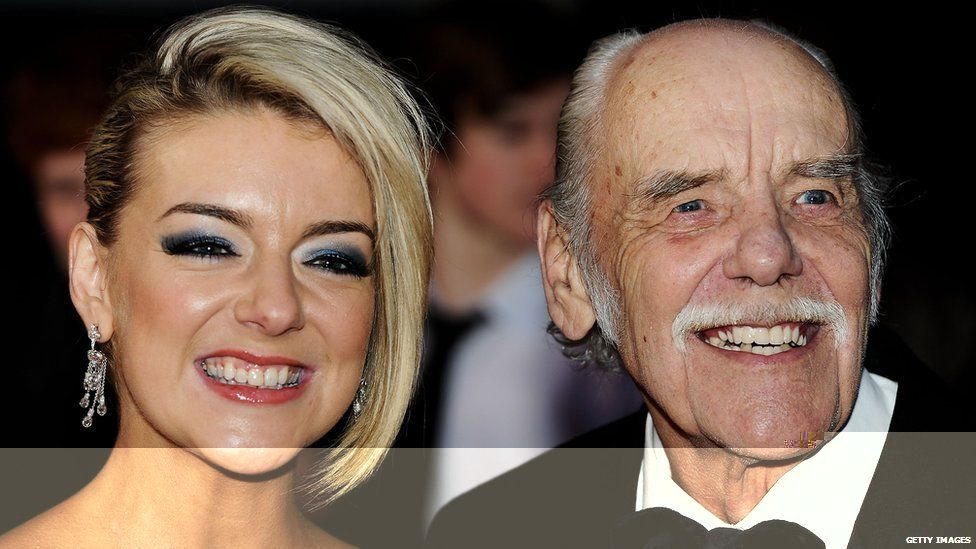 Sheridan Smith with her father