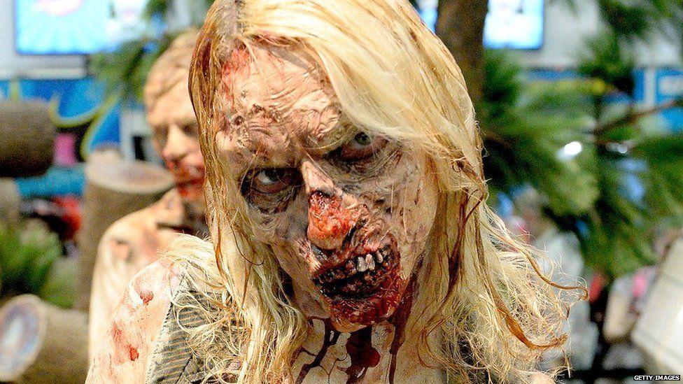 'The Walking Dead' zombie