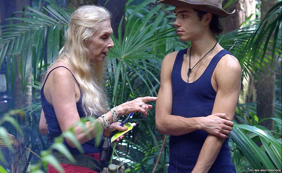 Lady C and George Shelley