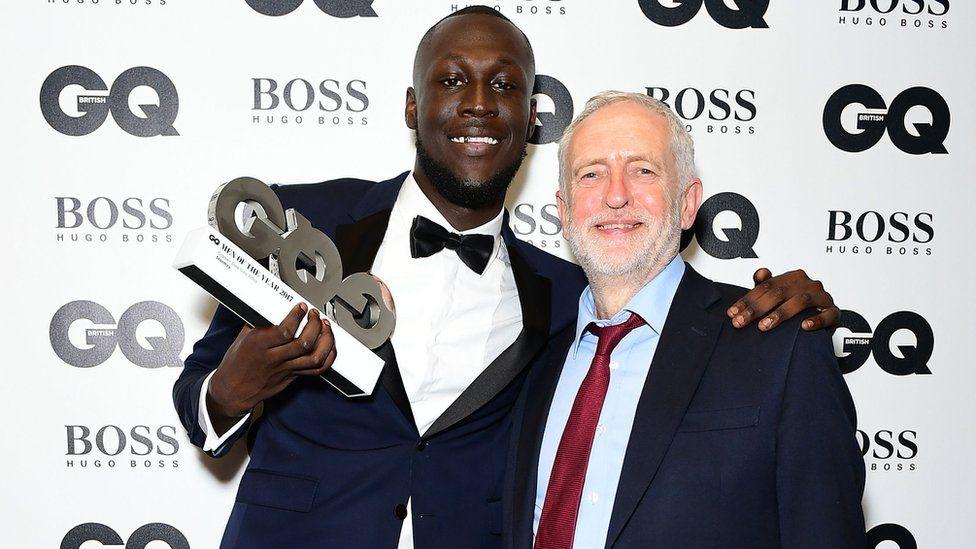 Stormzy hits out at Prime Minister Theresa May at GQ awards