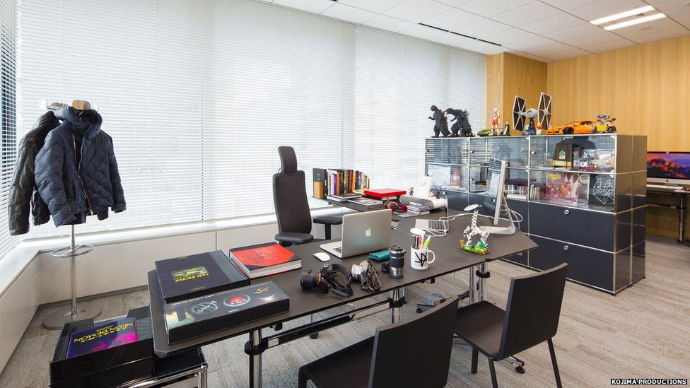 Hideo Kojima's office