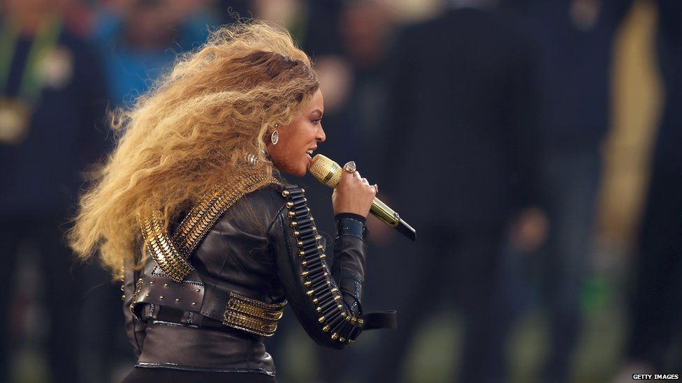 Super bowl outfit beyonce