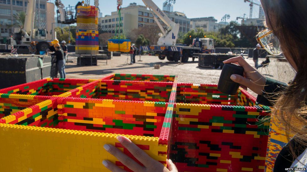 Lego tower record claimed in memory of young cancer victim