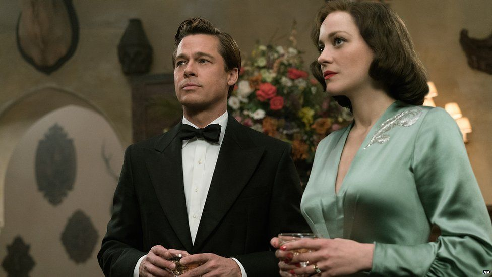 Cotillard and Pitt in their new film