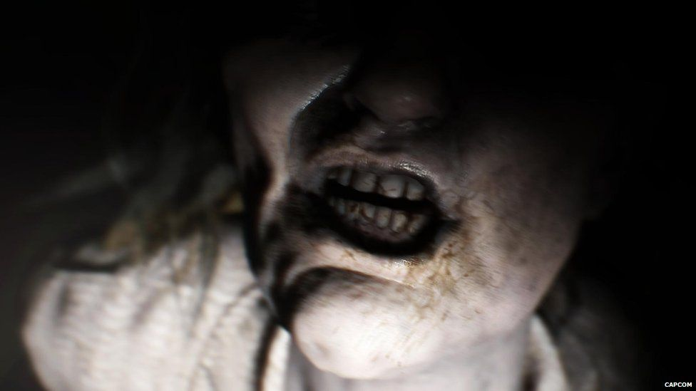 A screenshot from Resident Evil VII