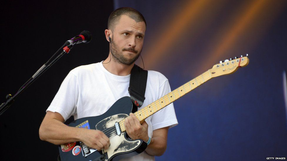 Orlando Weeks, frontman of The Maccabees