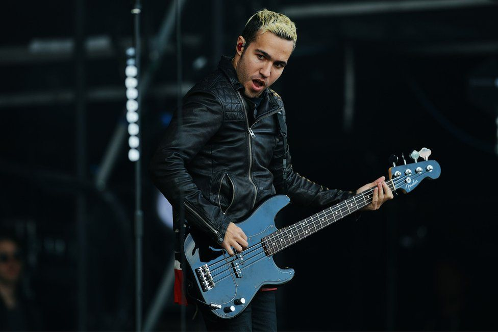 Pete Wentz from Fall Out Boy