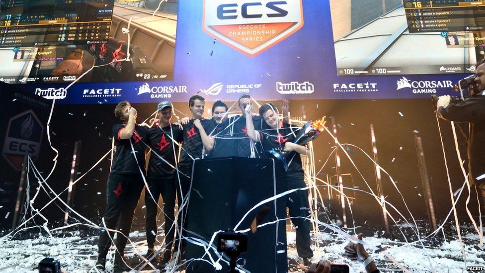 Xyp9x's team Astralis won ECS season 2