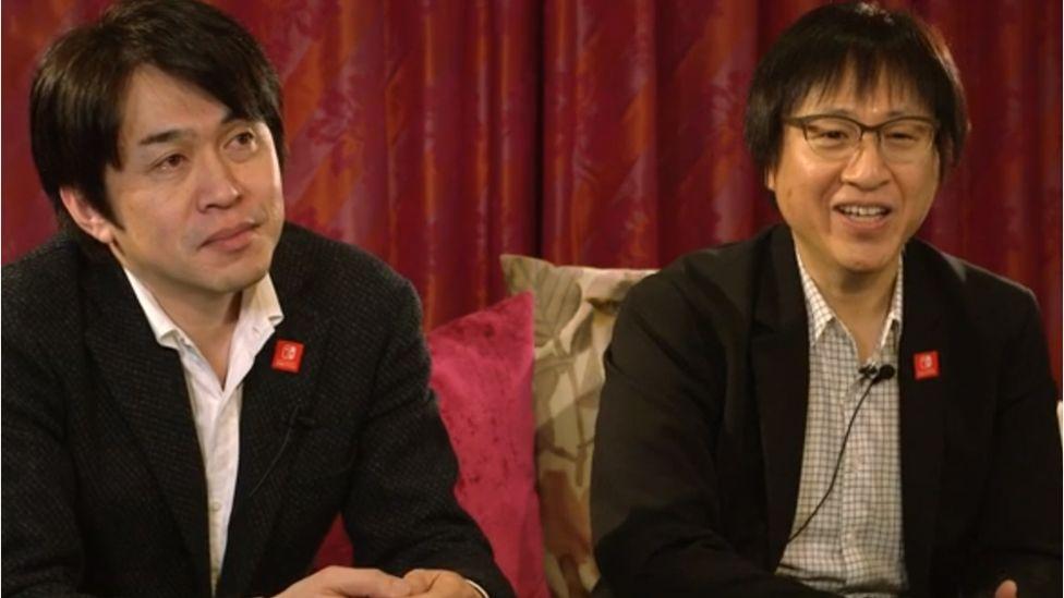 Yoshiaki Koizumi and Shinya Takahashi