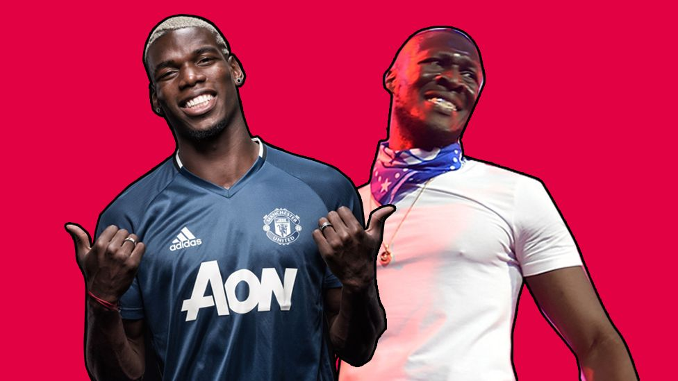 Stormzy and Pogba