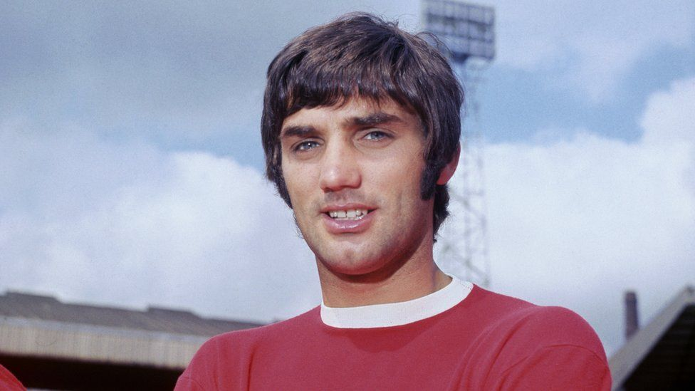 George Best in the football days