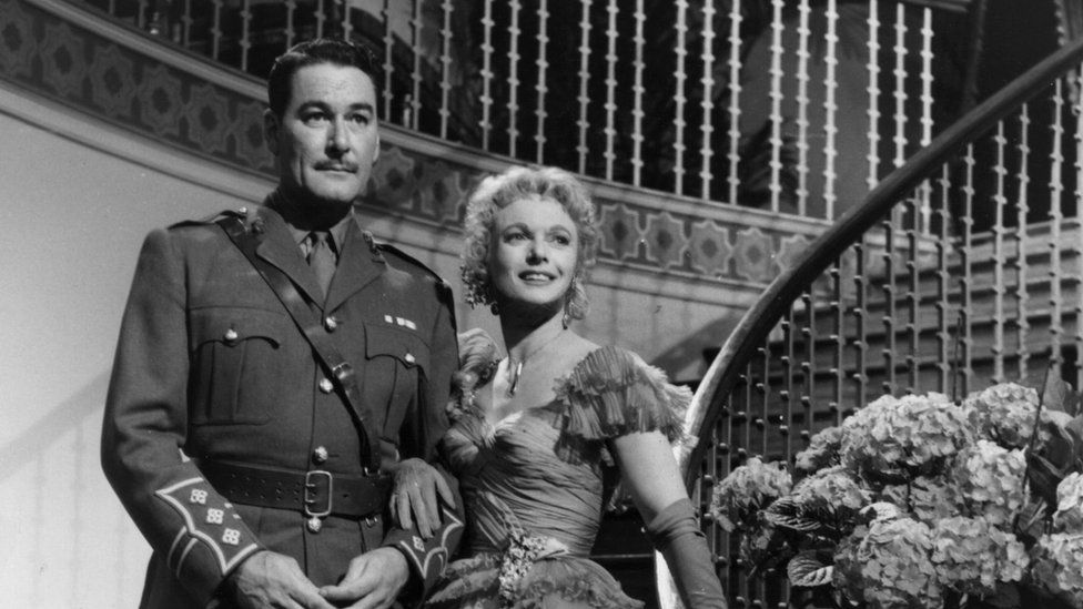 Errol Flynn and actress Anna Neagle