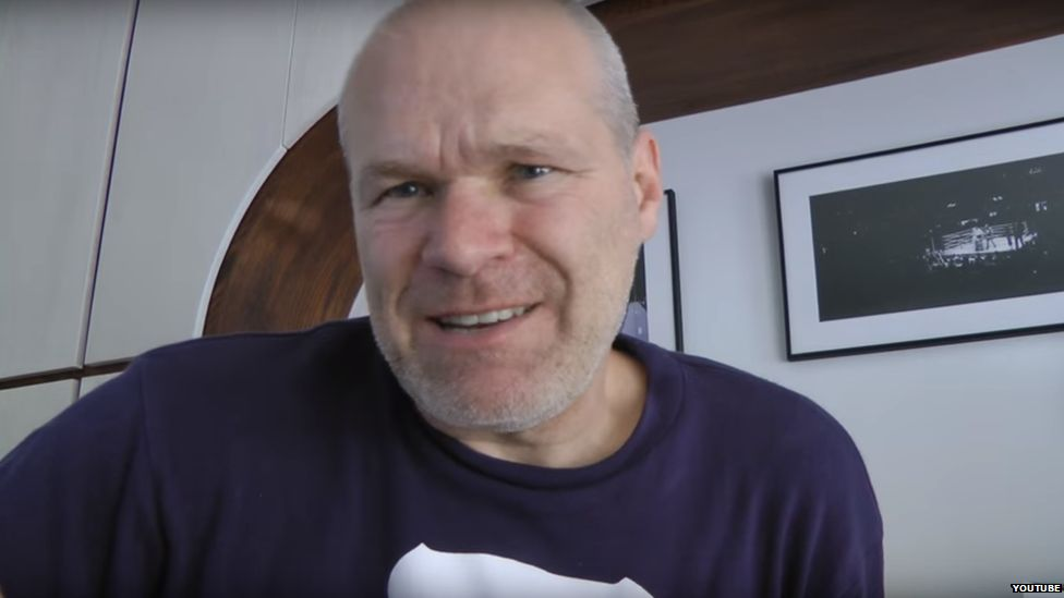 Uwe Boll from his Youtube channel
