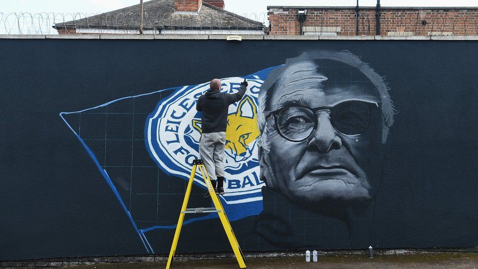 Painting of Claudio Ranieri