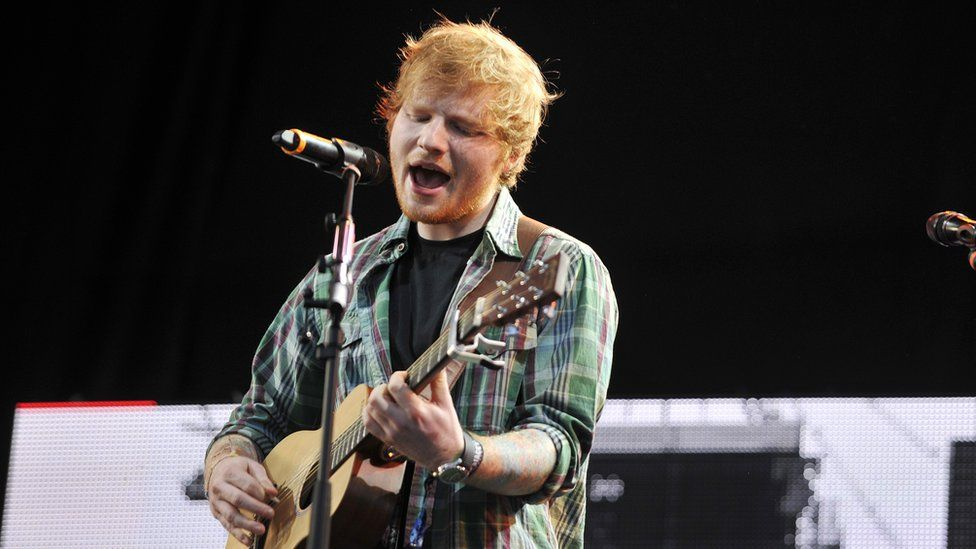 Ed Sheeran Sued Over Claims Hes Ripped Off A Marvin Gaye Song Bbc
