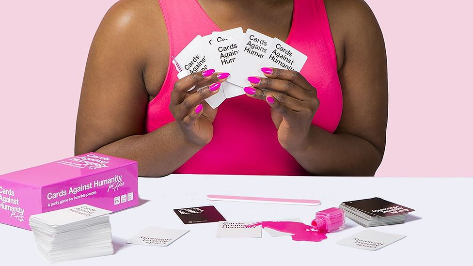 Cards Against Humanity fight the pink tax with 'for her' edition