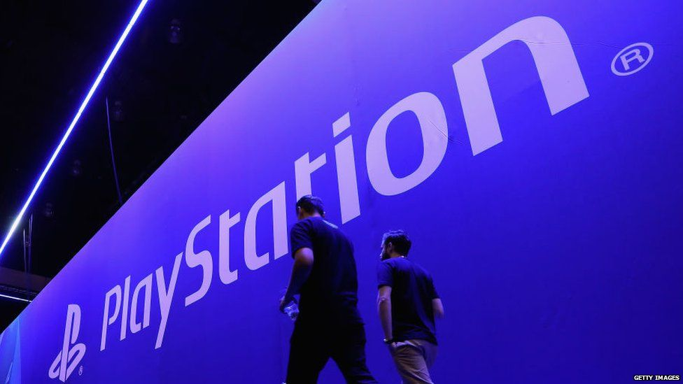 The PlayStation stage at E3