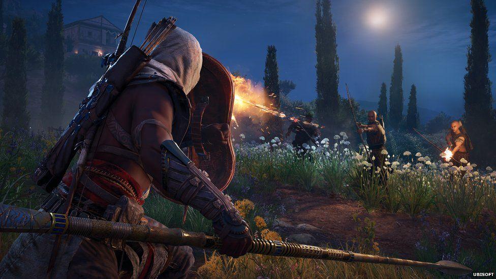 Screenshot from Assasin's Creed Origins