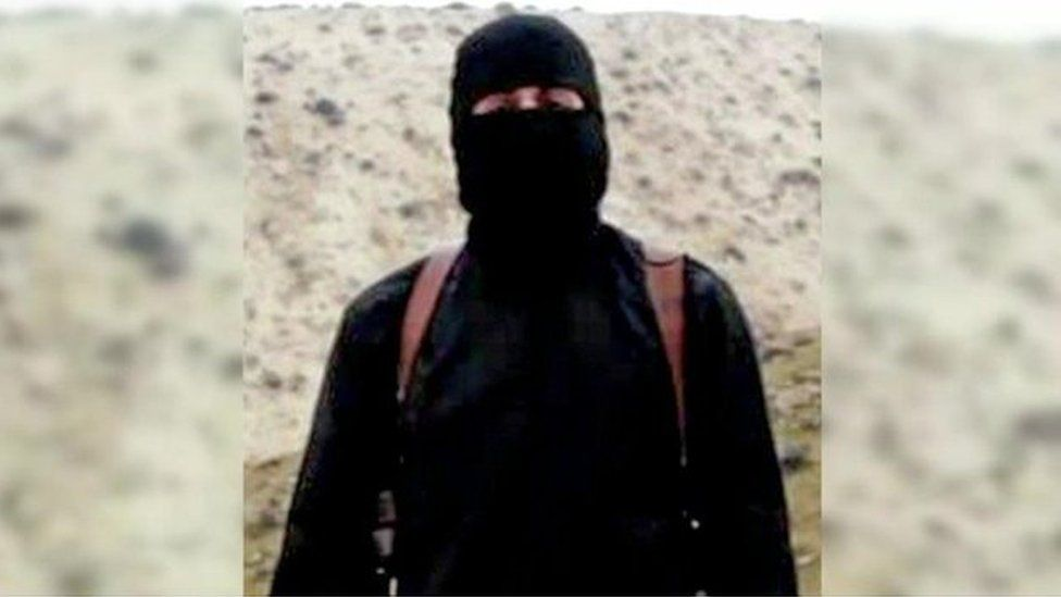 "Still from video showing ""Jihadi John"""