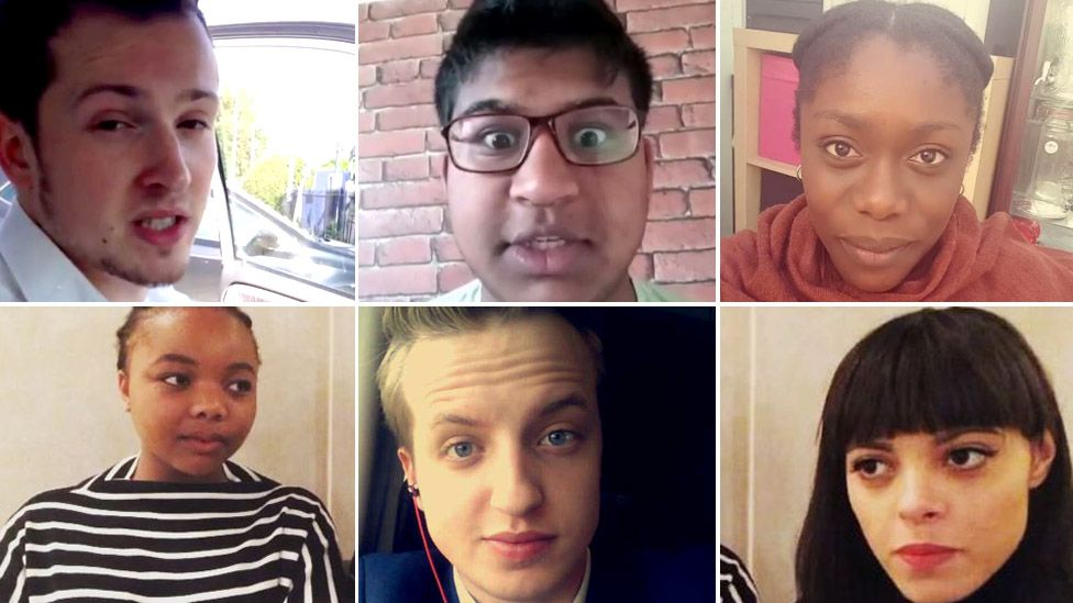 Six young voters record the moment they found out the referendum result