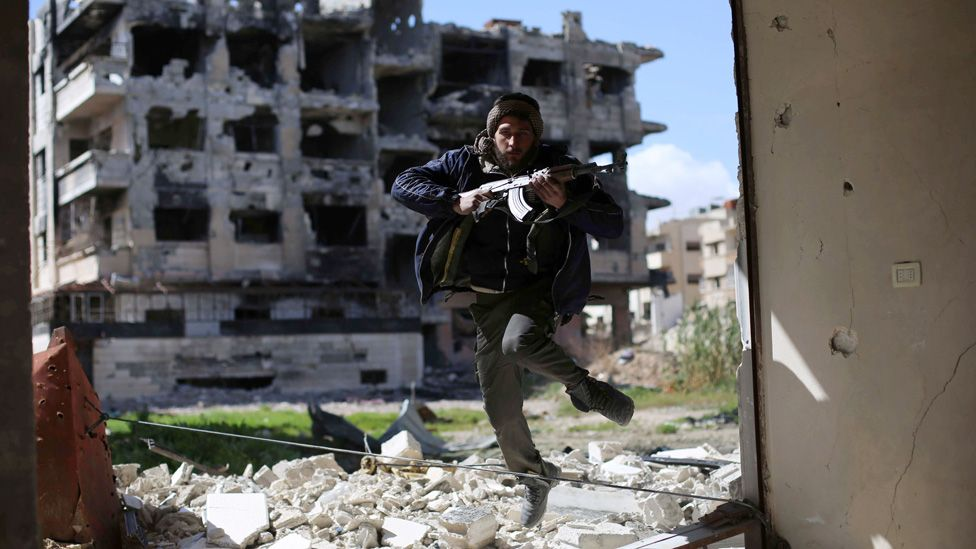 Syria rebel fighter