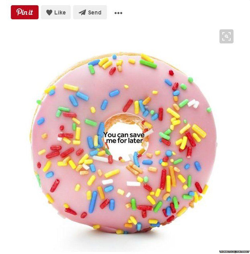 Pinterest doughnut image