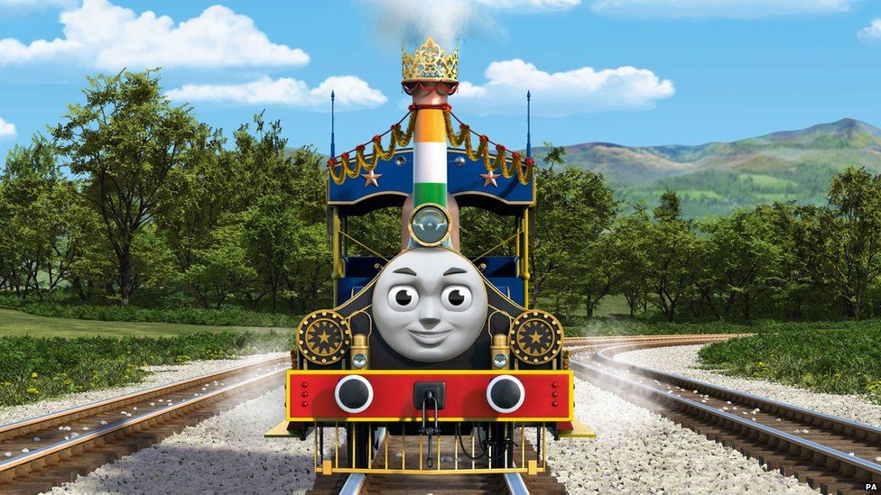 Rajiv Of India Who Features In The Upcoming Film Thomas Friends Great Race