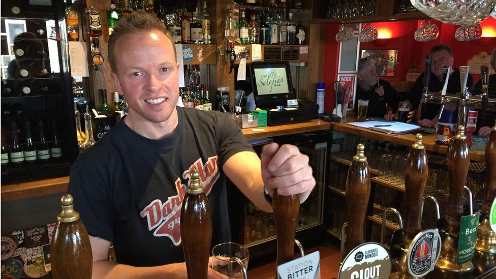 Oliver Parry pub landlord