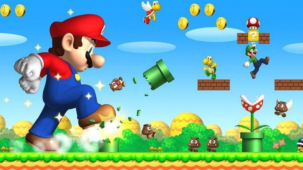 Nintendo Developing Movies Based On Its Iconic Games Like Super Mario Bros Bbc Newsbeat