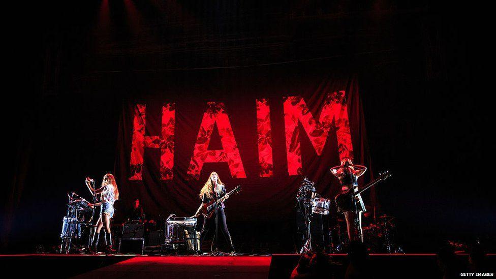 Haim live