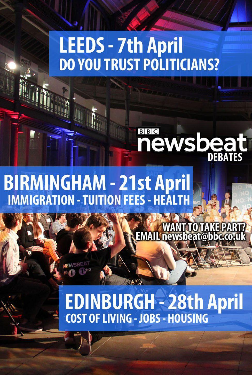 Newsbeat debates