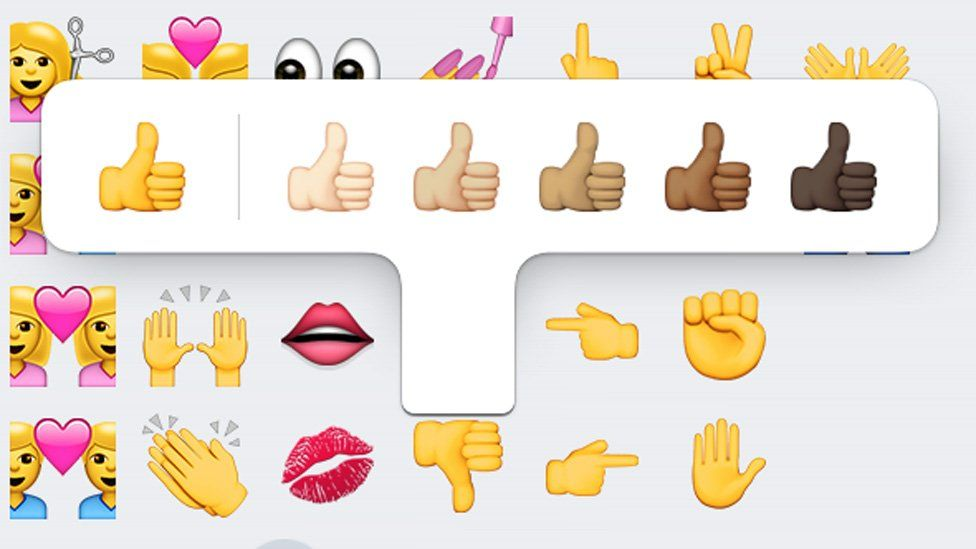 Diverse thumbs