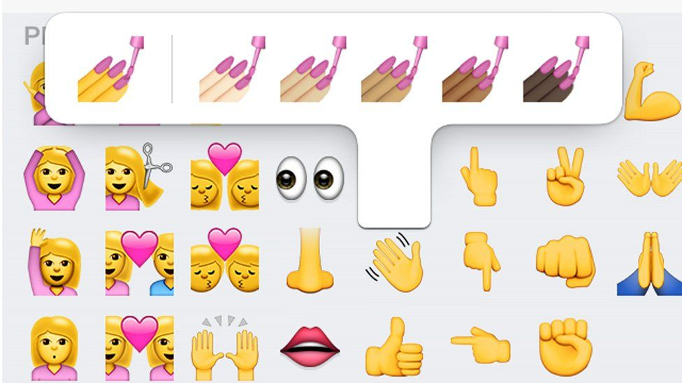 Diverse thumbs up! Emojis with different skin tones finally