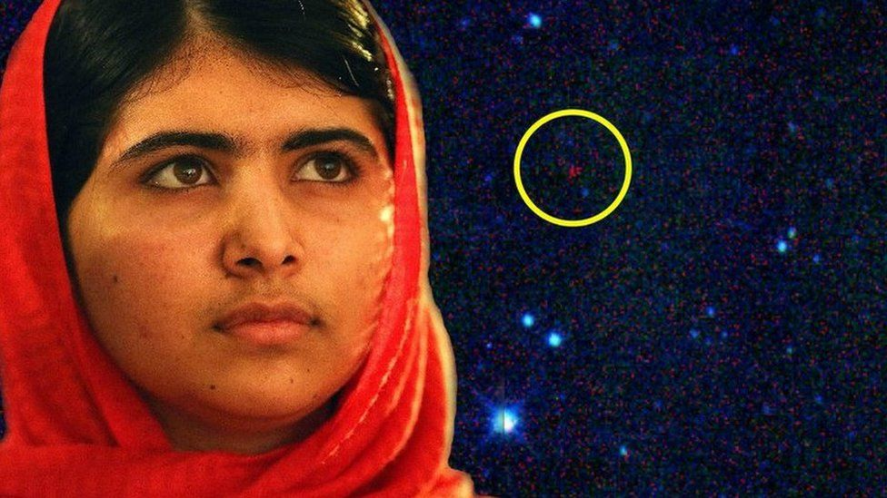 Malala and her asteroid