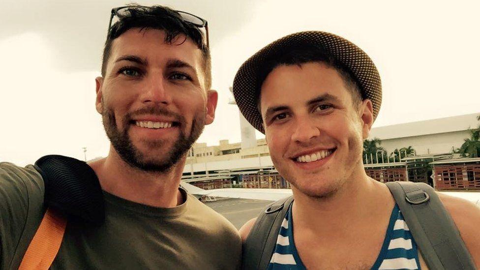 Nathan Johnson and Jared Milrad