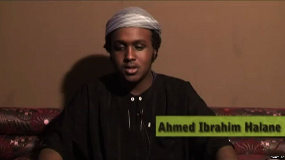Ahmed Halane in a Youtube video