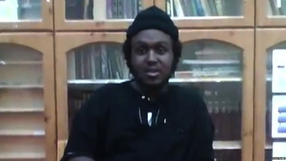 Ahmad Halane in a Youtube video