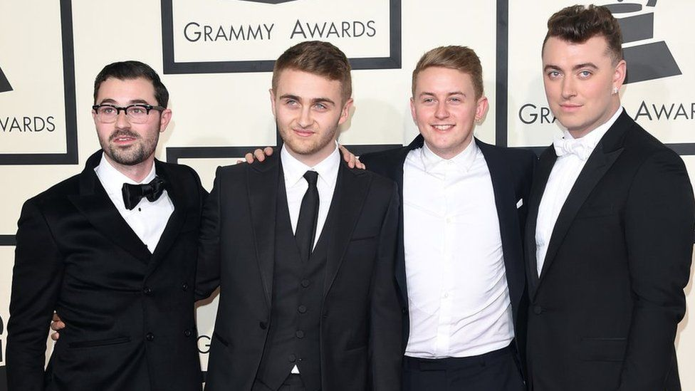 Jimmy Napes with Disclosure and Sam Smith