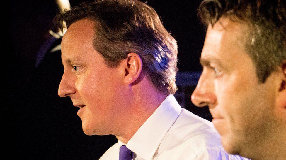 David Cameron and Chris Smith