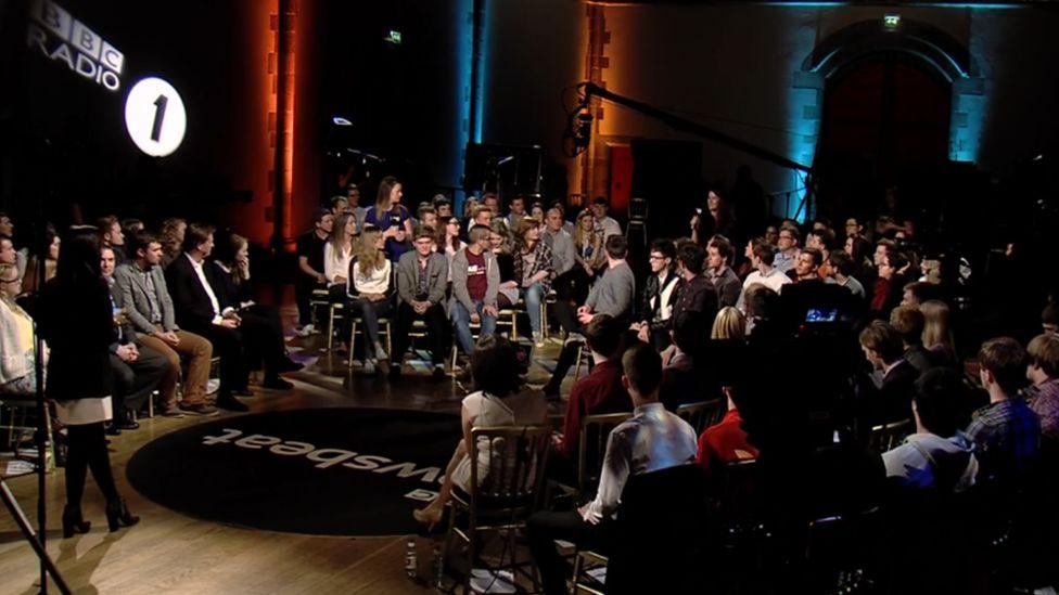 Audience at the Edinburgh debate