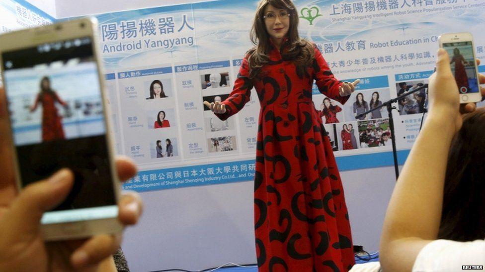 Yangyang robot woman